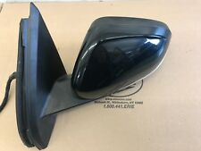 11-16 Volvo S60 V60 Left Drivers Side View Mirror 019 Black 31402599
