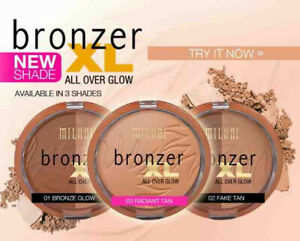 Milani Bronzer XL All Over Glow - Choose Your Shade