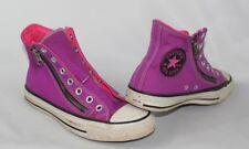 Converse High Top Women's 7 Men's 5 Pink & Purple Converse Canvas Zipper Shoes