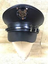 SDL Industrial Punk Military Hat With Badge & Keys Size 57,58,59cm