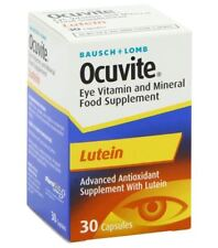 Bausch & Lomb Ocuvite Lutein With Zinc Eye Vitamin 30 Capsuels