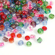 50g Mixed Coloured Seed Beads Glass 2mm Size 11/0 J09084xa