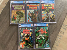 Swamp Thing CGC Huge Key Lot MINT 🔥📈 INVEST