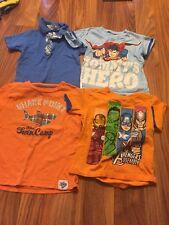 3t Boy Clothes Short Sleeved Shirts Lot Polo Superhero