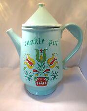 """Vintage Cookie Jar - """"Cookie Pot"""" - Mc Coy Giant Teapot"""