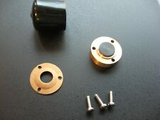 Thorens TD124 Bronze Main Bearing Thrust Plate w/Torlon Thrust Pad by Mirko #3