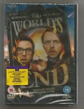 THE WORLD'S END - Simon Pegg / Nick Frost - UK REGION 2 DVD - sealed/new