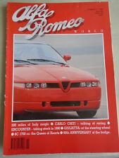Alfa Romeo World No 2 1990 6C 1750, Carlo Chiti, Giulietta