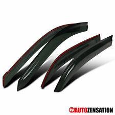 For 09-13 Toyota Corolla Rain Sun Guard Shade Deflector Smoke Side Window Visors