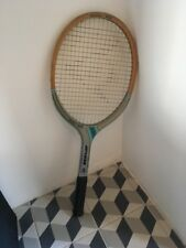 VINTAGE CON Dunlop FIESTA-Mid Pro Racchetta da Tennis Racchetta. Sports Memorabilia