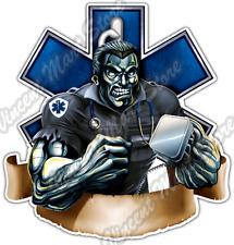 "Paramedic Medical EMS Emergency Beast Car Bumper Vinyl Sticker Decal 4.6"""