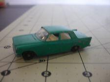 Old Vtg Matchbox Lesney Ford Zephyr 6 Toy Car Diecast Made In England