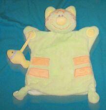 Doudou chat kiabi marionnette en TBE