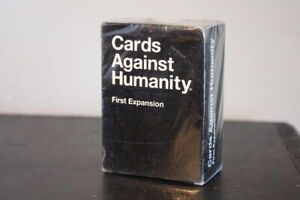 Cards Against Humanity: First Expansion - BRAND NEW in Sealed Box