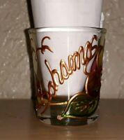 Bahamas shot glass. Shotglass. 3D. Very pretty.