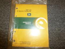 John Deere AMT 622 All Material Transporter Owner Operator Manual OMW40634