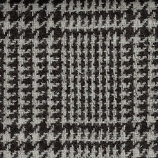 Grey/Brown Prince of Wales Check Natural Undyed Tweed - 2.50 Mtrs