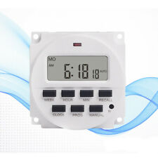 New 7 Day Heavy Duty Digital Programmable Timer LCD Power Time Control Switch
