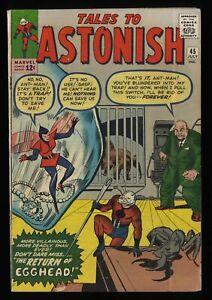 Tales To Astonish #45 VG 4.0 Ant Man!