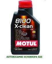 MOTUL 8100 X-CLEAN 5W40 C3 OLIO MOTORE 50200-50501 RN0700 RN0710 FIAT 9.55535 S1