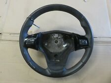 VAUXHALL CORSA D  2012 1.4 SRI STEERING WHEEL WITH FINGER CONTROLS PIANO BLACK