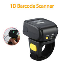 Handheld Bluetooth Ring Finger Barcode Scanner Reader For Android iOS Windows
