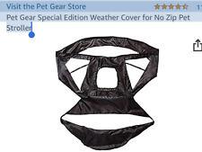Pet Gear No Zip Stroller Rain Cover