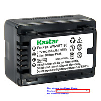 Kastar Replacement Battery Pack for Panasonic VW-VBT190 VBT190 VW-VBT380 VBT380