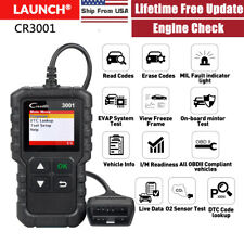LAUNCH OBD2 Scanner Car Check Engine Fault Light Diagnostic Tool OBD Code Reader