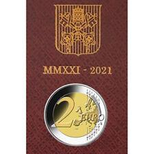 2 Euro Vatikan 2021 Stgl. Caravaggio im Folder VVK coin bu Vatican