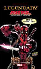 Legendary: Presale Deadpool expansion Marvel deck building game New