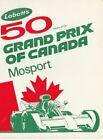 VINTAGE 1970'S LABATT'S 50 BEER GRAND PRIX OF CANADA MOSPORT DECAL- RACE CAR