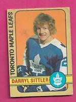 1972-73 OPC # 188 LEAFS DARRYL SITTLER GOOD  CARD (INV# C9774)