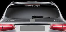 Rear Window Sticker fits Nissan Qashqai Vinyl Decal Emblem Sticker Logo RW59