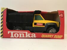 TONKA QUARRY DUMP TRUCK *STEEL* CONSTRUCTION TRUCK 1998