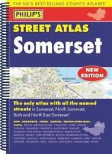 Philip's Street Atlas Somerset: Spiral Edition by Phillips   Spiral-bound Book  