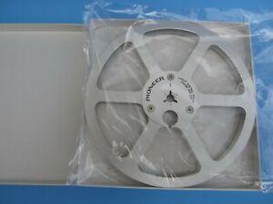 """Pioneer PR-85 7"""" Metal Reel Vintage Reel To Reel for 1/4"""" Tape Player"""