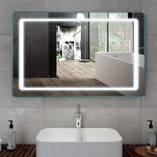 """Led Bathroom Lighted Mirror Illuminated Wall Sensor Light Vanity Makeup 40""""x24"""""""