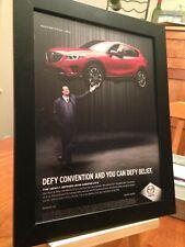 "FRAMED ORIGINAL ""2016 MAZDA CX-5"" SUV CAR VEHICLE MAGAZINE PROMO AD PAGE"