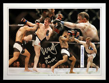 *New* Brad Pickett Signed 12x16 Ultimate Fighting Championship Montage