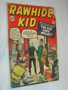 Rawhide Kid #30 FA Jack Kirby The kid goes wild LOOK