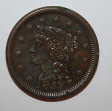 1853 LARGE CENT   K016