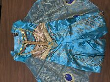 Girl's Disney Princess Jasmine Deluxe Teal Costume Small 4-6x