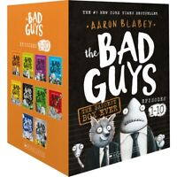 NEW Bad Guys Baddest Box Ever Episodes 1-10 Set 10 Books Collection Aaron Blabey