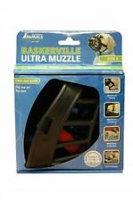 Baskerville Ultra Dog Muzzle Adjustable Deluxe Dog Muzzle Black Size 5