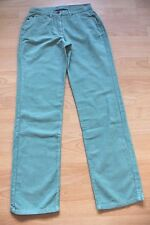 BODEN  dusty green  moleskin  straight leg    jeans size 8R  NEW