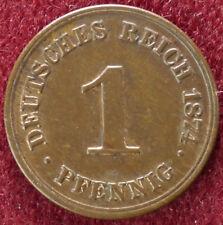 Germany 1 Pfennig 1874 C (D2408)