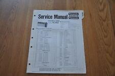 Panasonic R-1492  Portable Radio Genuine Service Manual. R 1492 RD-838