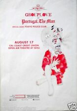 Grouplove / Portugal The Man 2014 San Diego Concert Tour Poster-Indie Rock Music
