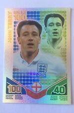 2010 Topps Match Attax World Cup #279 John Terry /100 Club - French version